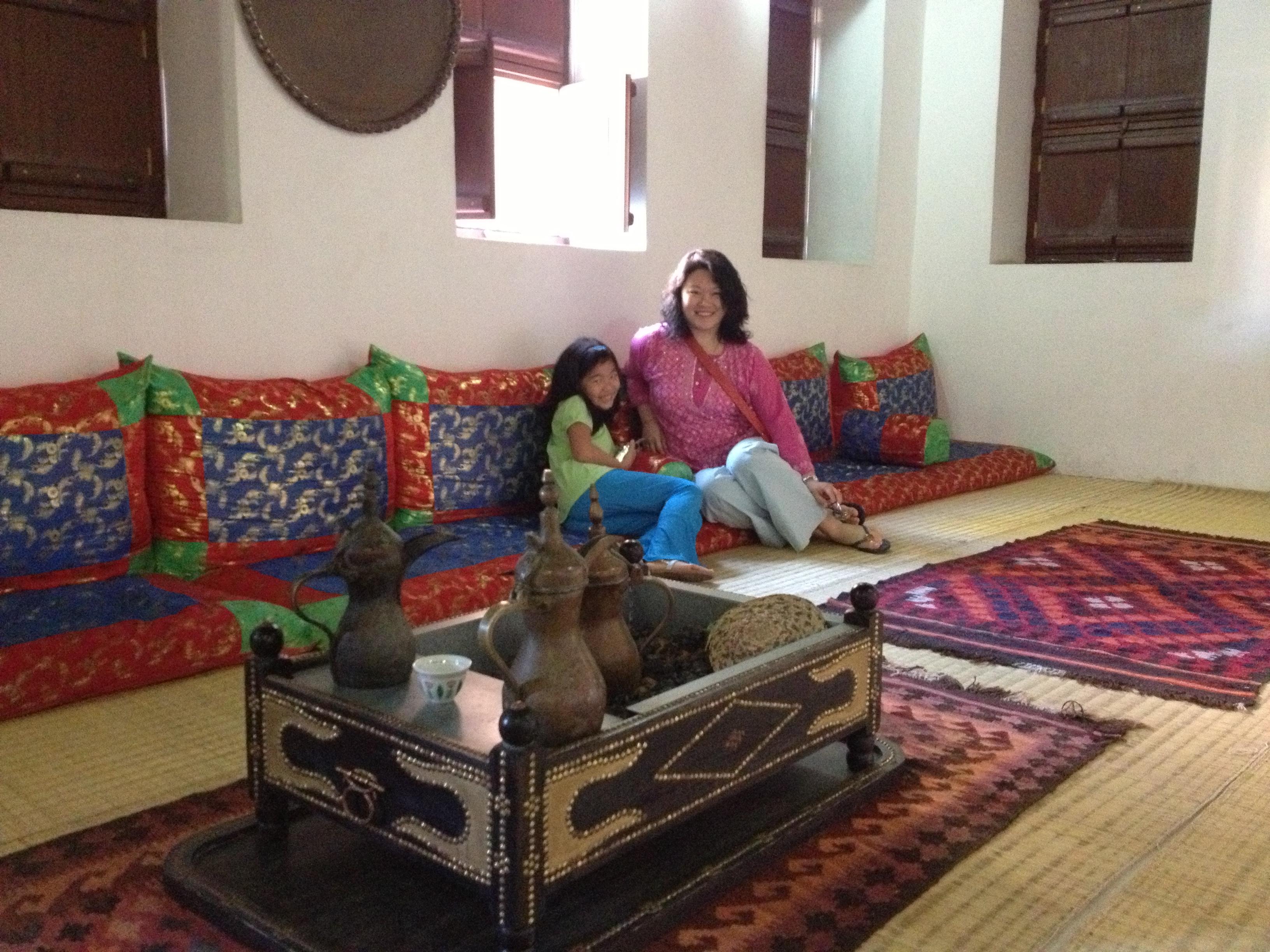 Traditional sitting room, Arabian Peninsula 2013